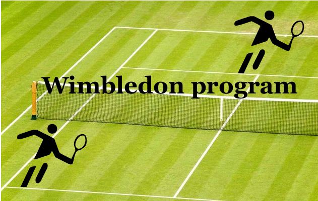 wimbledon program