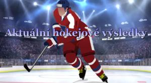 Aktuální hokejové výsledky