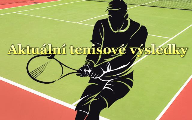 Aktuální tenisové výsledky