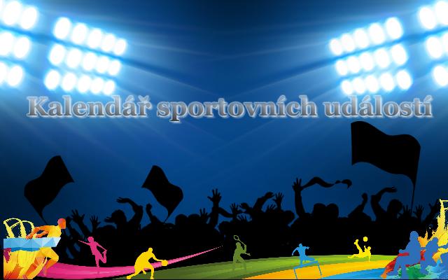 Kalendář sportovních událostí