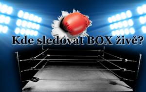 Kde sledovat Box živě?