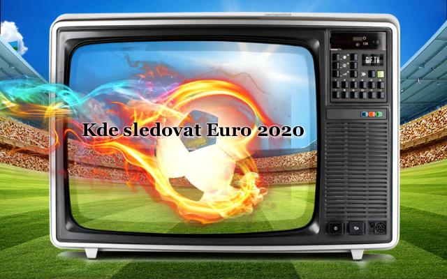 kde sledovat euro 2020
